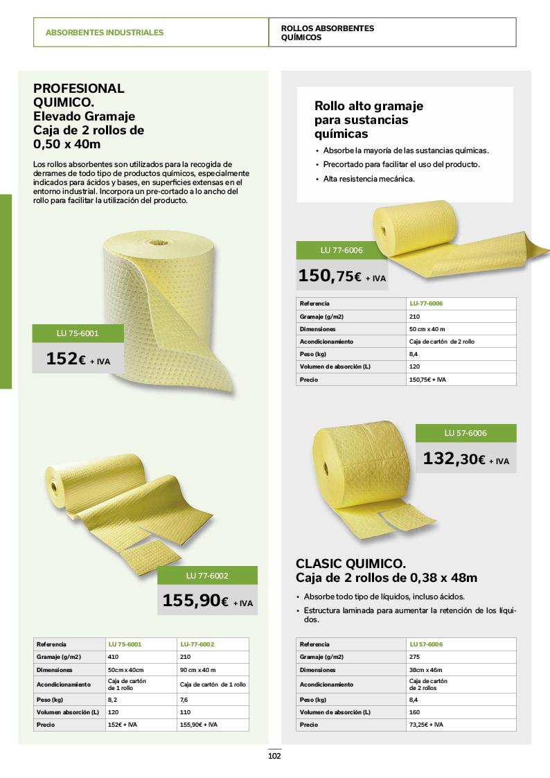 Catálogo de Productos 102