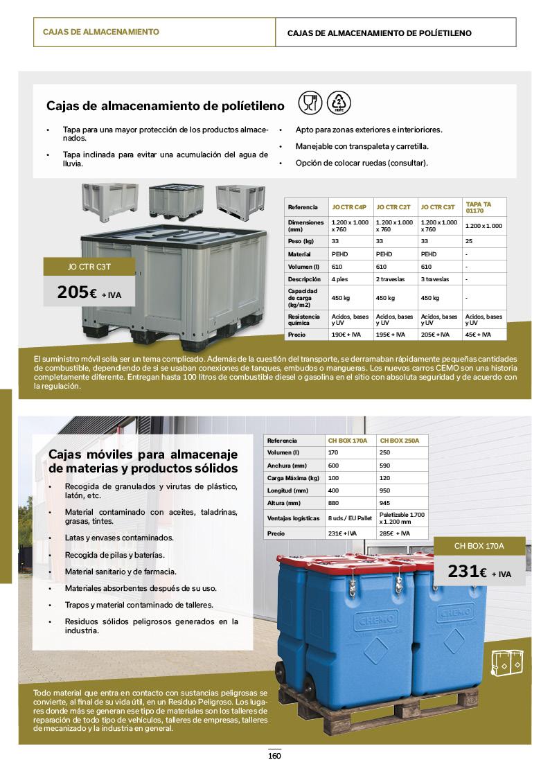 Catálogo de Productos 160
