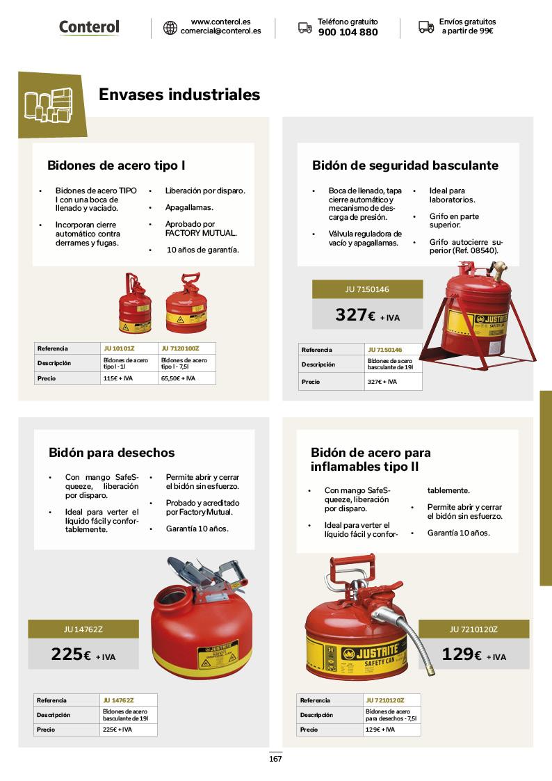Catálogo de Productos 167