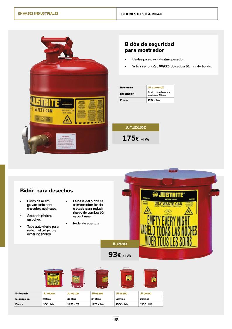 Catálogo de Productos 168