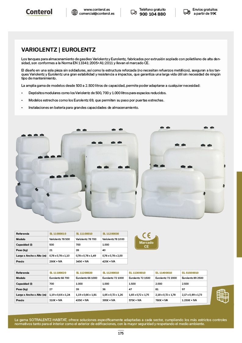 Catálogo de Productos 175